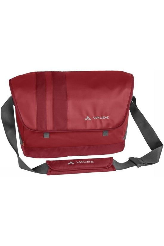 Vaude Shoulder Bag Ayo L dark red