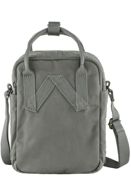 Fjällräven Shoulder Bag Kånken Re-Wool Sling mid grey