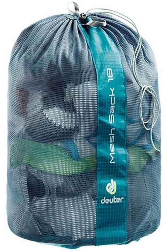 Deuter Storage System Mesh Sack 18 Dark Grey/Petrol