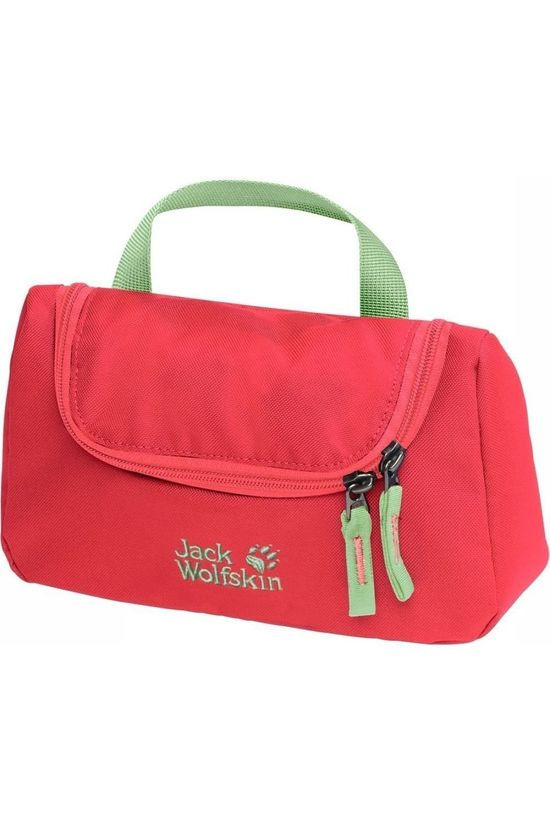 Jack Wolfskin Wash Washroom red/light green