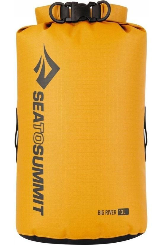 Sea To Summit Sac Etanche Big River Dry Bag 13L Jaune Moyen