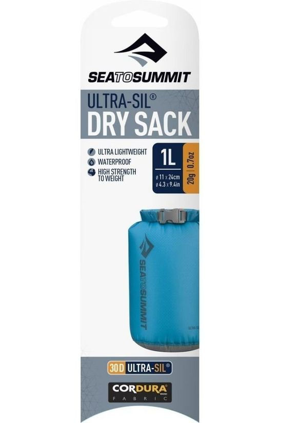 Sea To Summit Waterproof Bag Ultra-Sil Dry Sack 1L dark grey
