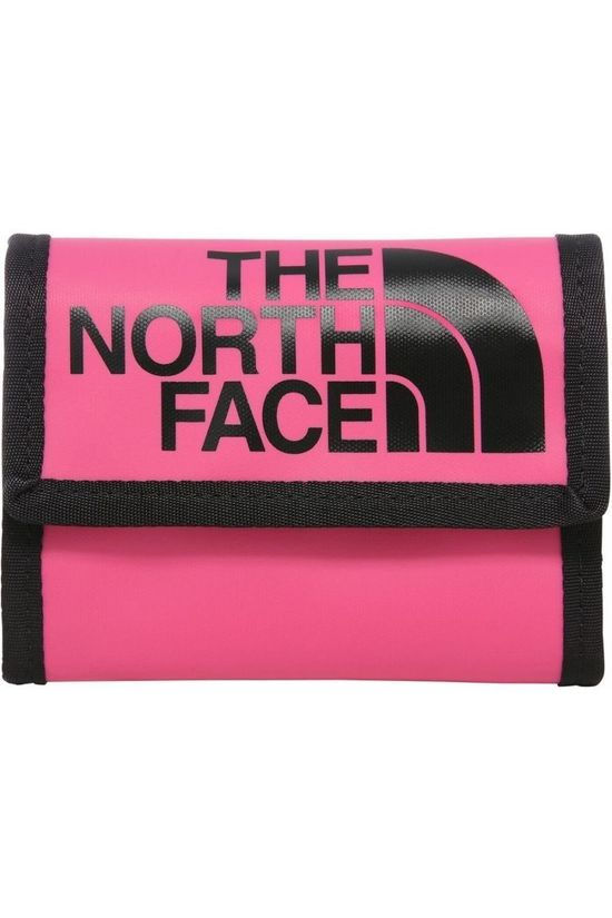 The North Face Portefeuille Base Camp Wallet Middenroze/Zwart