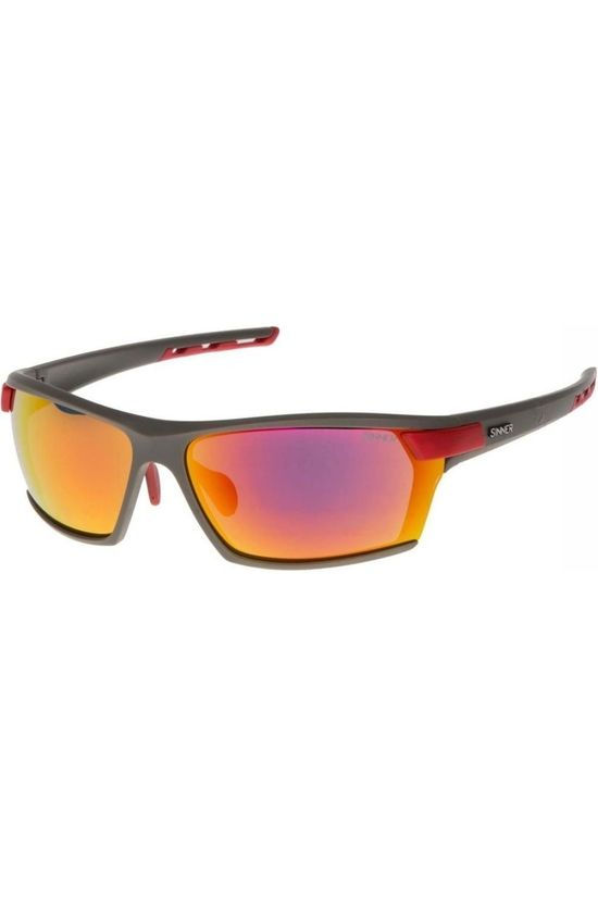 Sinner Glasses Sin Springhill (Box) dark grey/light red