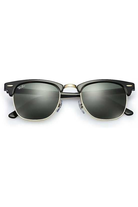 Ray-Ban Lunettes Clubmaster Noir/Or