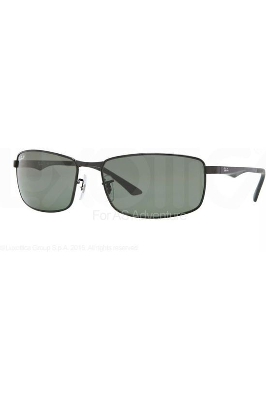 Ray-Ban Glasses RB3498 black/mid green