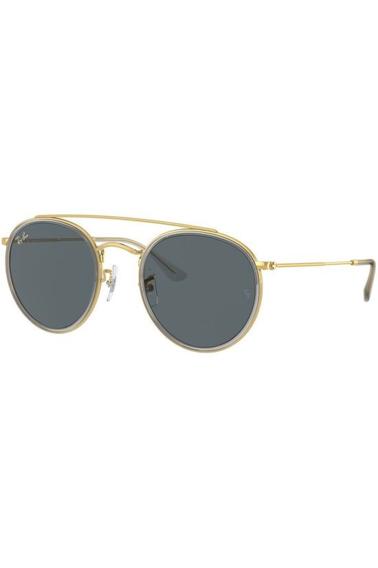 Ray-Ban Bril RB3647N Goud/Donkerblauw