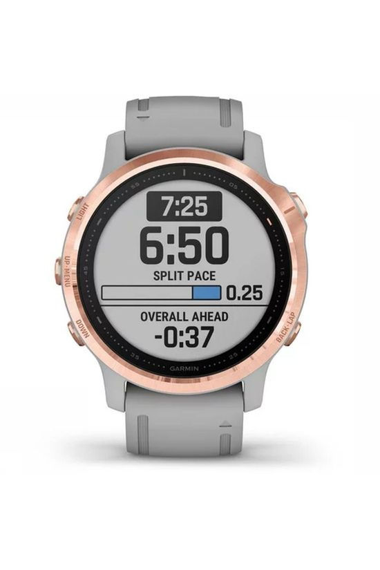 Garmin Gps Fenix 6S Sapphire light grey/gold