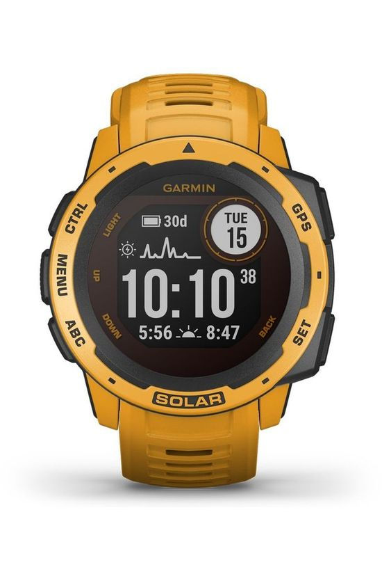 Garmin GPS Instinct Solar Sunburst Orange