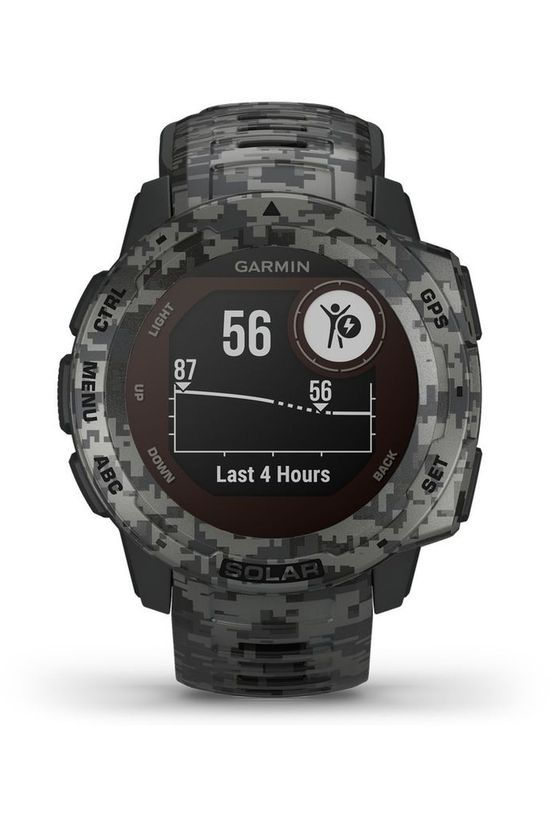 Garmin GPS Instinct Solar Graphite Camo dark grey