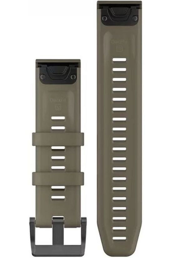 Garmin Gps Quickfit 22 Watch Band Coyote Tan Silicone Middengrijs