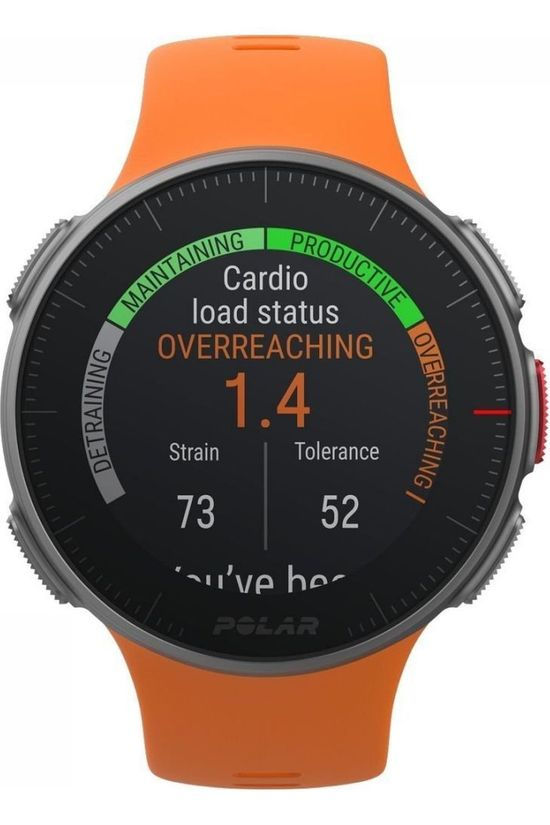 Polar Multisport GPS Vantage V orange