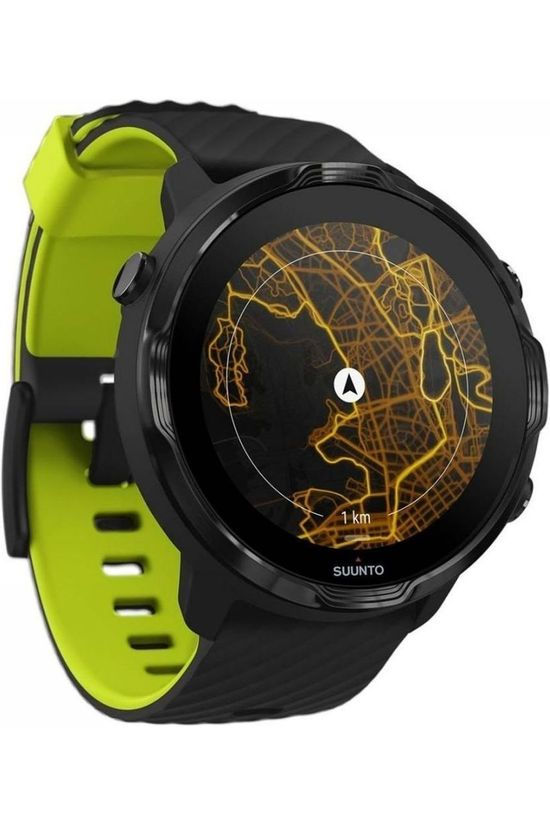 Suunto 7 Black Lime Black/Lime Green