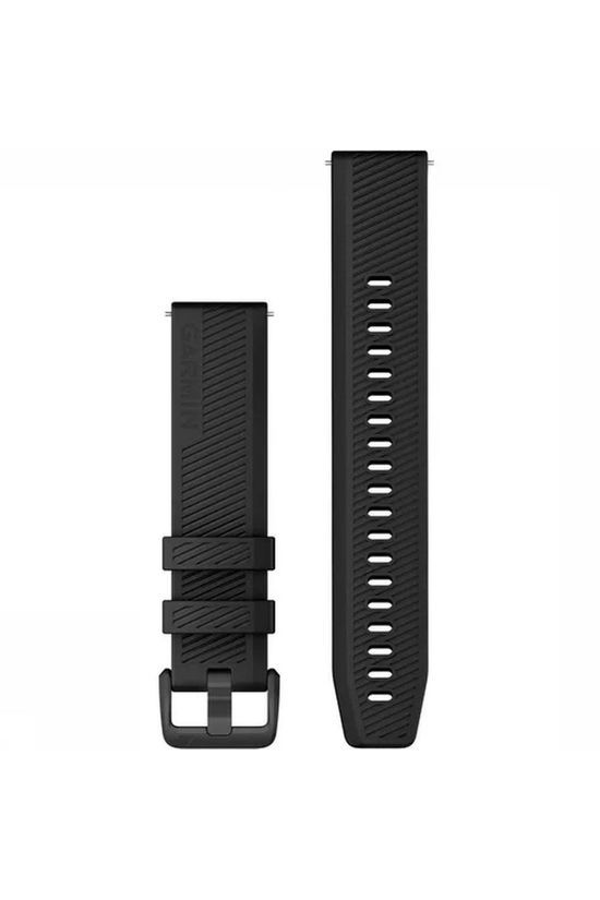 Garmin Sport Quick Release Band Silicone With Black Stainless Steel Hardware black