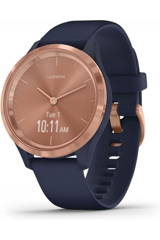 Garmin Activity Tracker Vivomove 3S Sport (39mm) Bleu Moyen/Or
