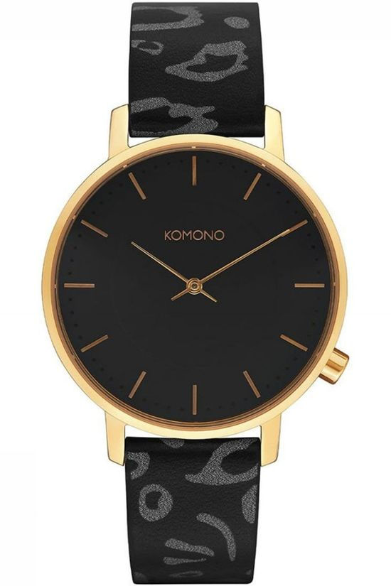 Komono Watch Harlow Animal black