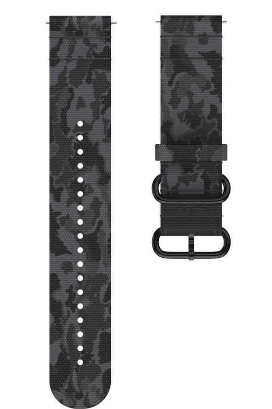 Polar Watch Strap Grit X TNDR M/L Black/Ass. Camouflage