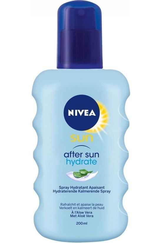 Nivea Sun Protection 200ML After Sun Hydratation No colour / Transparent