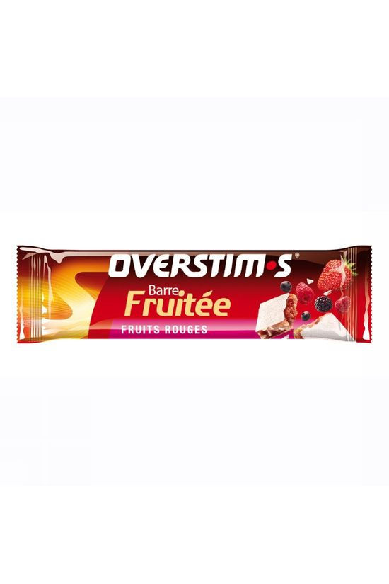 Overstim's Barre Fruitée Fruits Rouges Pas de couleur / Transparent