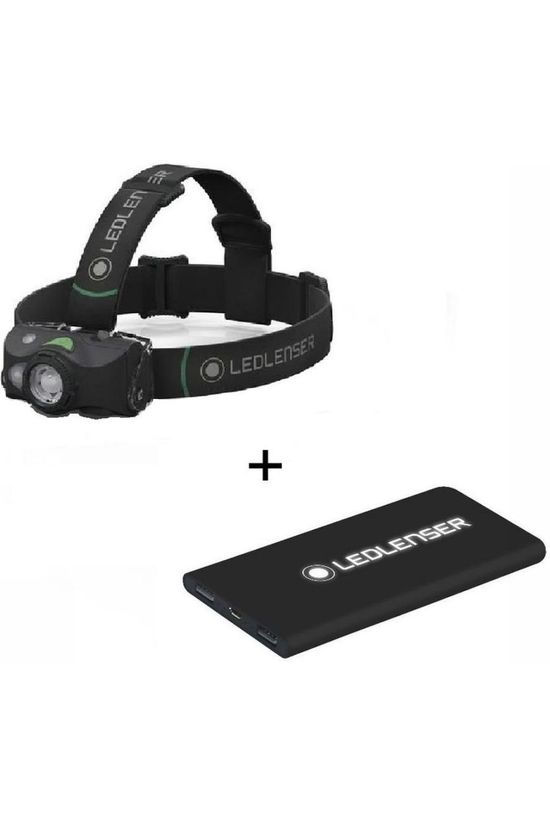 Ledlenser Headlamp Mh8 + Free Powerbank (Worth €39.99) black