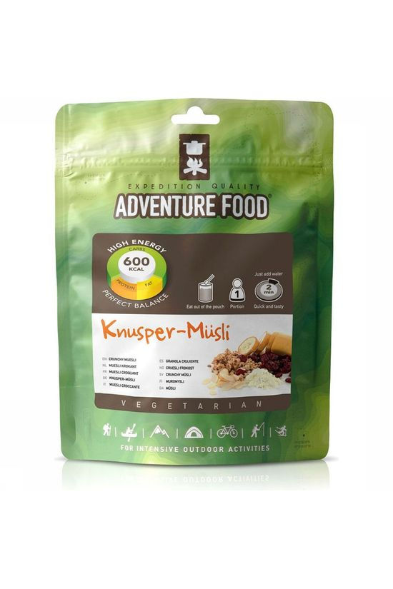 Adventure Food Meal Knusper-Musli 1P No colour / Transparent