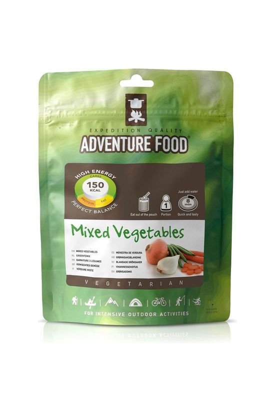 Adventure Food Meal Mixed Vegetables 1P No colour / Transparent