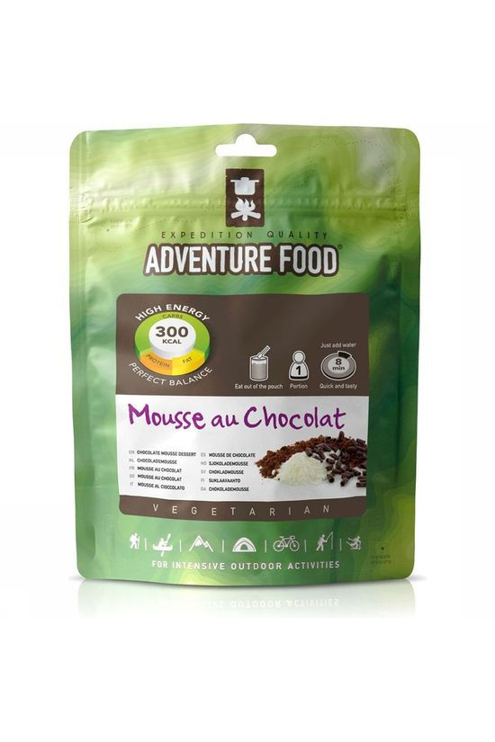 Adventure Food Meal Mousse Au Chocolat 1P No colour / Transparent