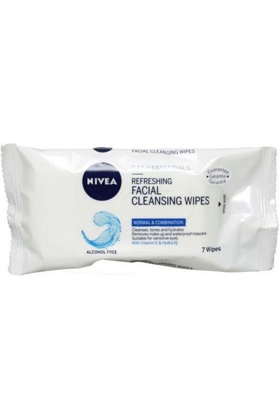 Nivea Facial Cleaning Wipes 7 Pieces No colour / Transparent