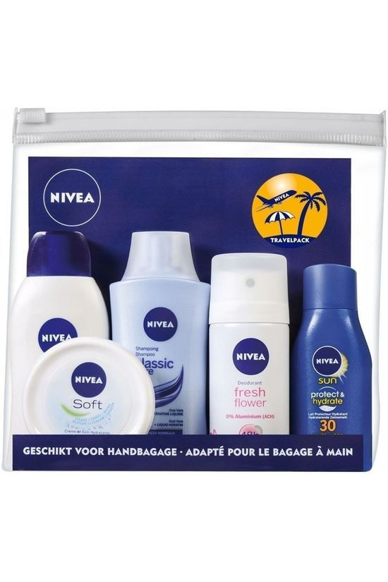 Nivea Hyg Pers Travelpack Dames 2017 Pas de couleur / Transparent