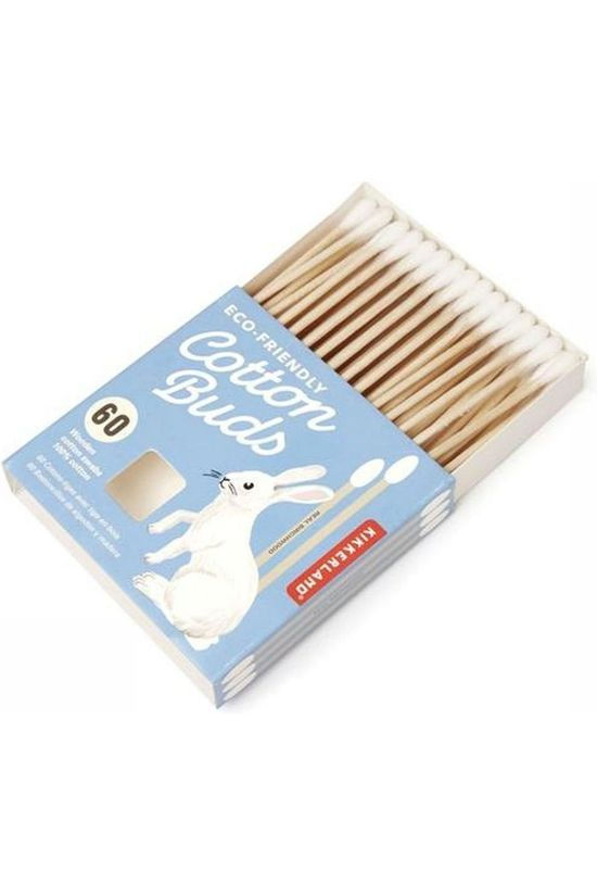 Kikkerland Pers Hyg Cotton Buds No colour / Transparent