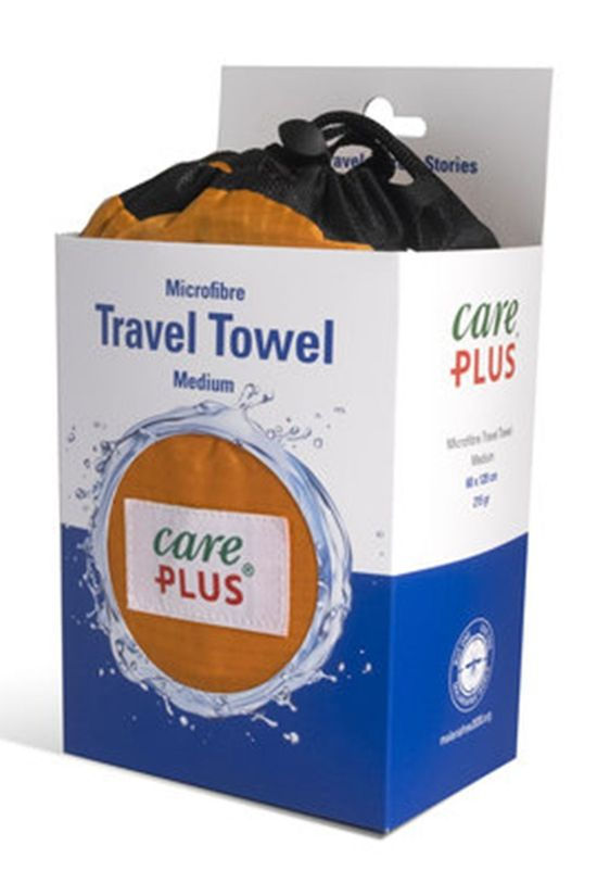 Care Plus Handdoek Travel Towel Medium Copper Koper