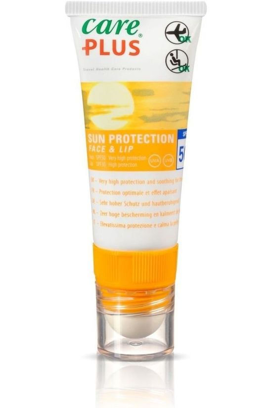 Care Plus Sun Protection Face & Lip 20ml No colour / Transparent