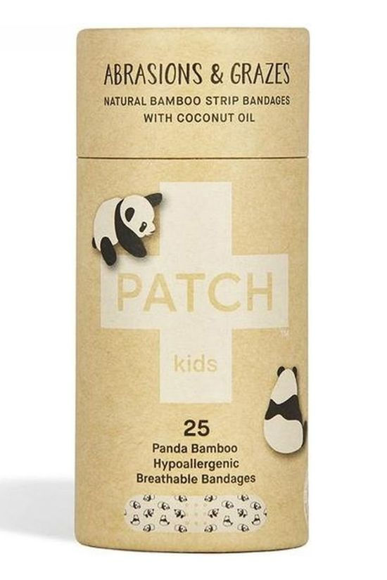 Patch EHBO-Kit Coconut Oil Kids Adhesive Strips Geen kleur / Transparant