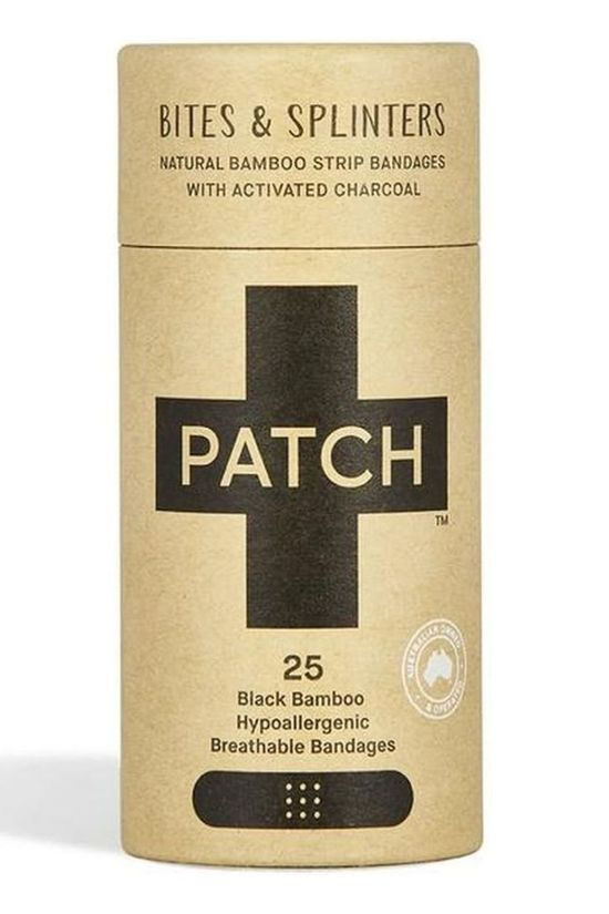 Patch EHBO-Kit Activated Charcoal Adhesive Strips Geen kleur / Transparant