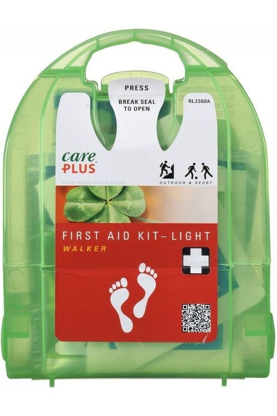 Care Plus EHBO-kit First Aid Kit Light Walker Geen kleur / Transparant
