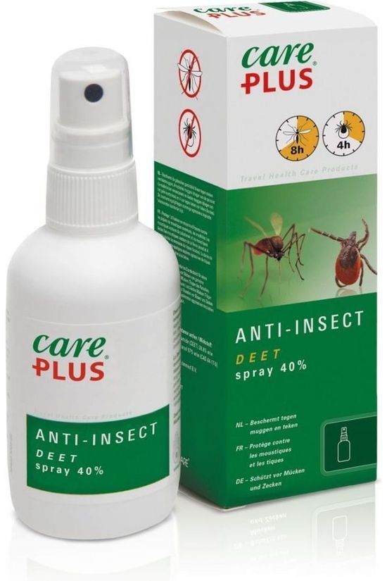 Care Plus Anti-insectes Spray Deet 40% 100ml Pas de couleur / Transparent