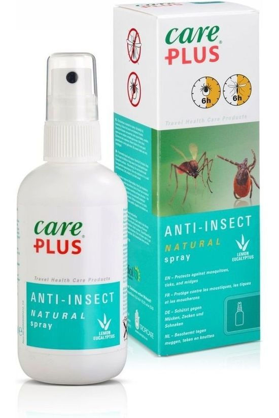Care Plus Insectenwering Spray Natural 100ml Geen kleur / Transparant