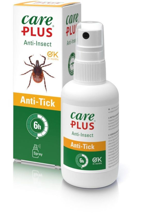 Care Plus Insectenwering Anti-Tick 60ml Geen kleur