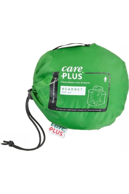 Care Plus Mosquito-Net Pop-Up Headnet No colour / Transparent