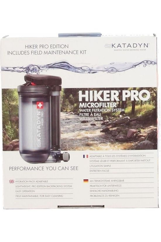 Katadyn Water Purification Appliance Hike Pro No colour / Transparent