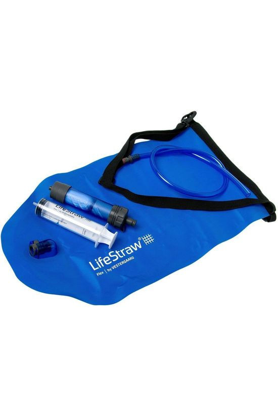 Lifestraw Water Purification Appliance Flex With Gravity Bag mid blue