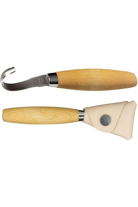 Mora Mes Hook Knife 164 RH With Sheath Geen kleur / Transparant