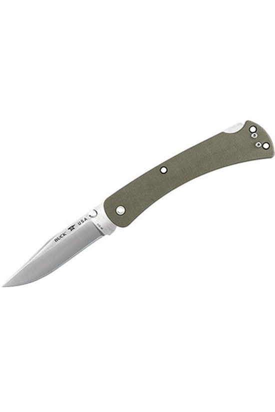 Buck Knives Couteau Slim Edc Folding Hunter Pro Od Green Kaki Clair