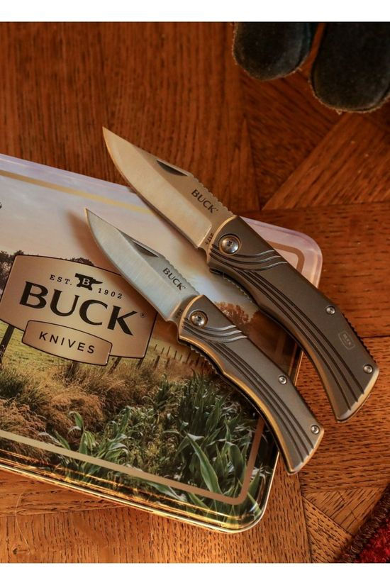 Buck Knives Mes 217 And 216 Combo pack Geen kleur / Transparant