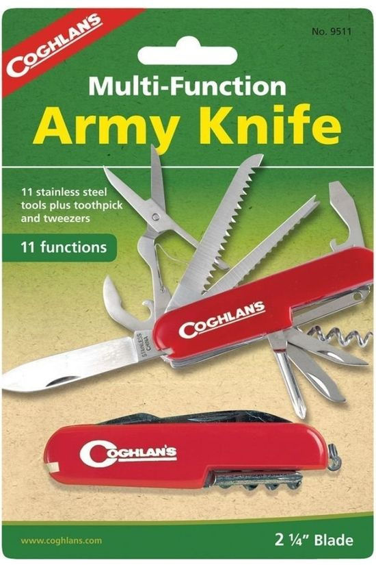 Coghlan's Knife Cog Army 11 Functions No colour / Transparent