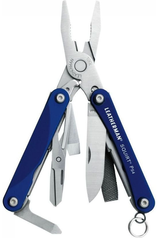 Leatherman Multitool Squirt Ps4 blue
