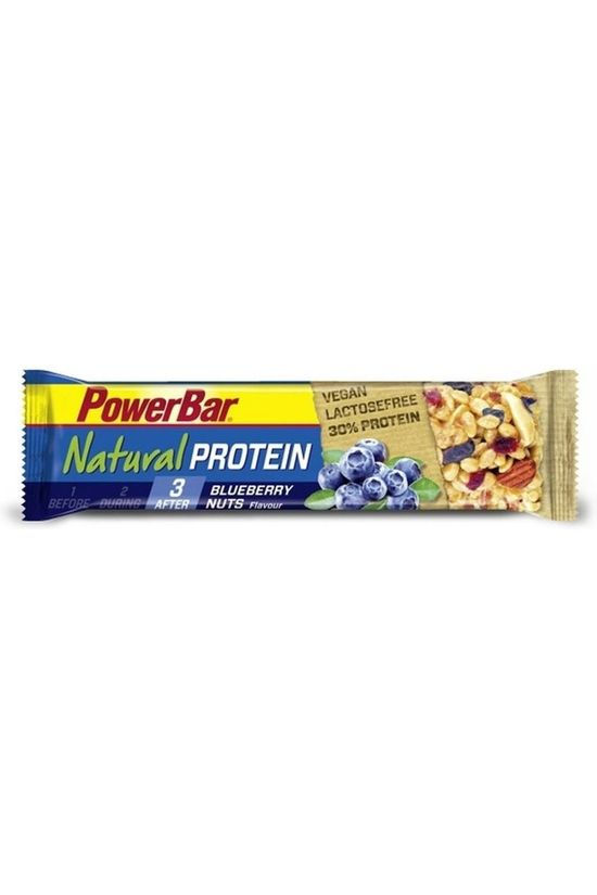 Powerbar Bar Blueberry Nuts Natural Protein No colour / Transparent