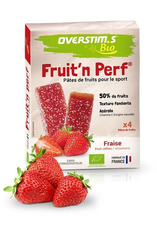 Overstim's Bar Fruit'n Perf Bio Fraises No colour / Transparent