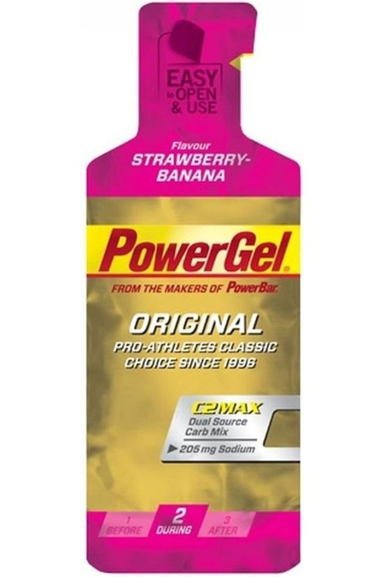 Powerbar Gel Original Strawberry Banana Pas de couleur / Transparent