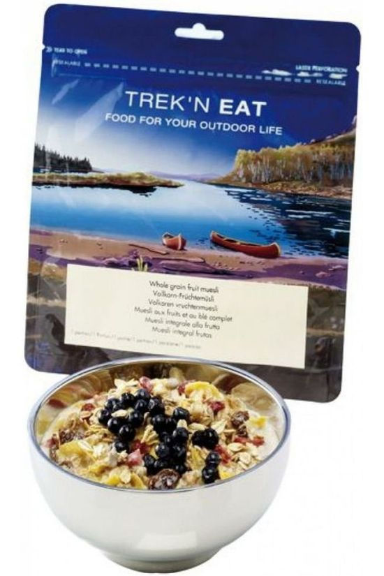 Trek 'n Eat Food Wholemeal Fruit Muesli No colour / Transparent